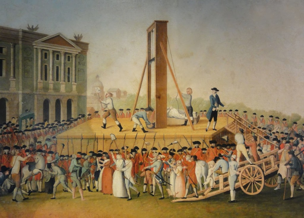Marie Antoinette hukkamine 1793. aastal