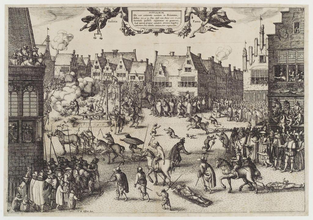 Püssirohuvandenõu osaliste hukkamine 1605. aastal